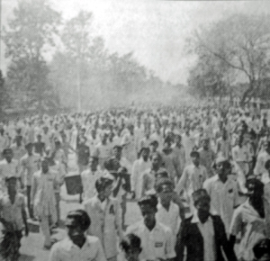 Bangladesh demonstrators, Feb. 22, 1952