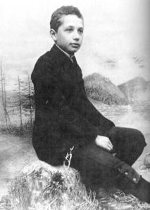 Albert Einstein, age 14