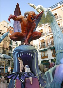 Globalization swallowing individual dignity, Las Fallas