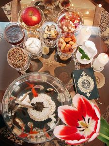 The Haft Sin Table